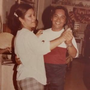 Susana and Alfredo Pabatao.