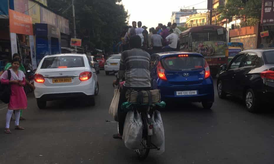 Kolkata's traffic is crazy