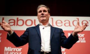 Sir Keir Starmer, who is widely predicted to win the Labour leadership election