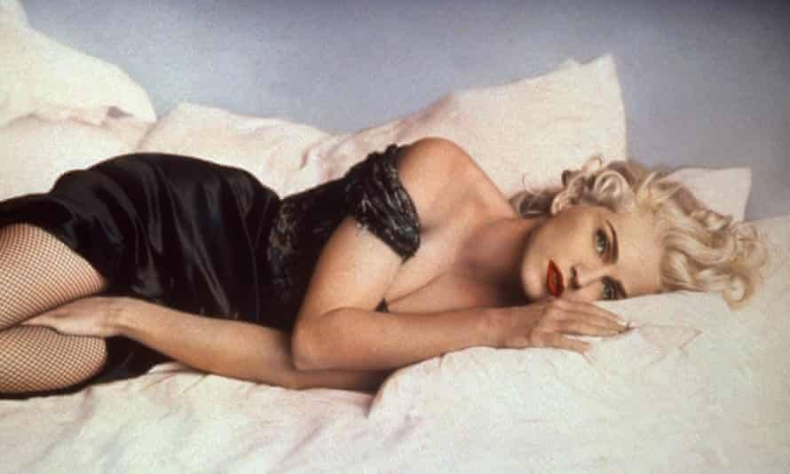 A promotional image for Madonna: Truth Or Dare.