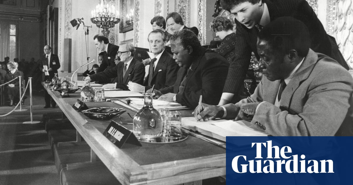 Guardian Editorial From 1979 A Giant Stride For Zimbabwe World