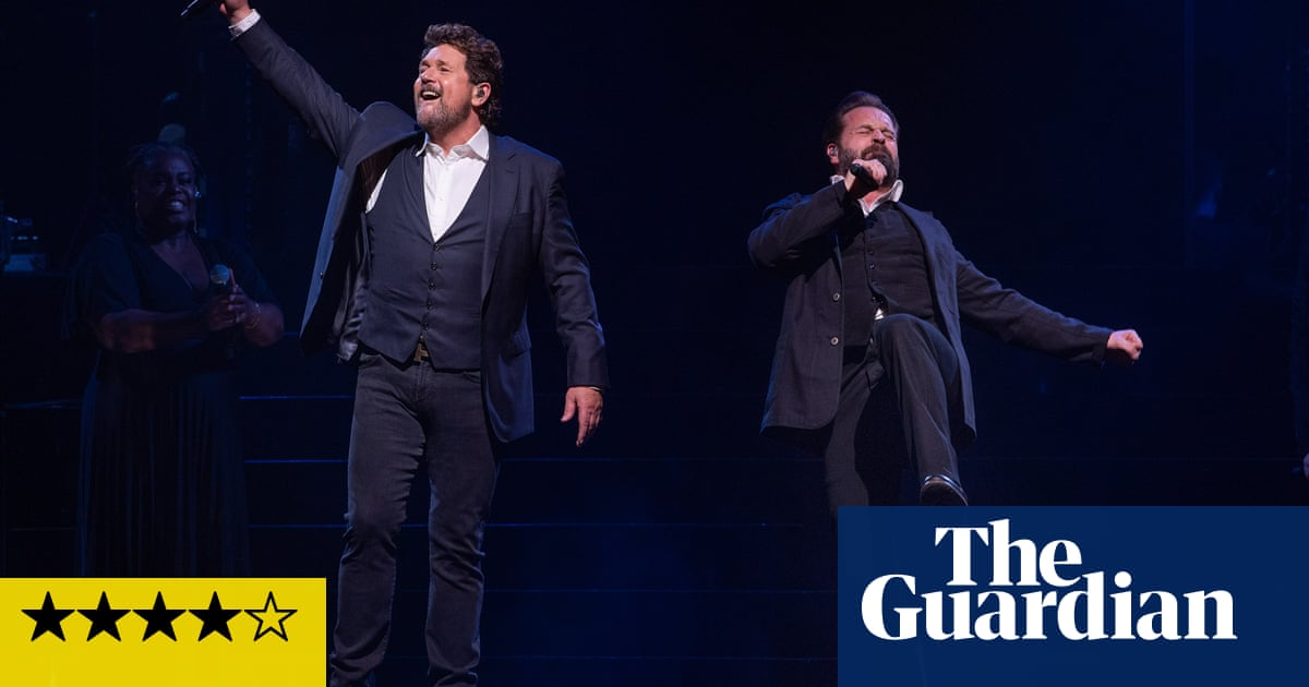 Michael Ball and Alfie Boe review – dulcet bromance hits the high notes