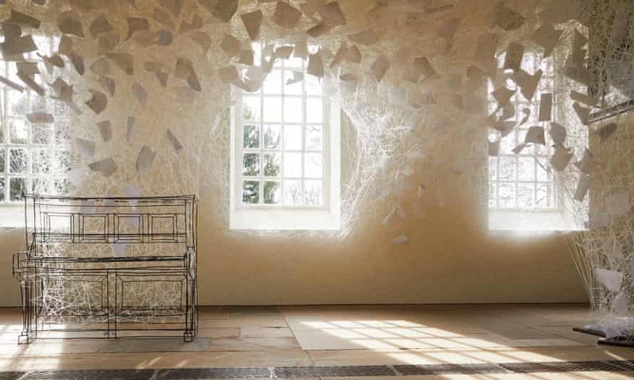 'Beyond Time, 2018' by Japanese artist Chiharu Shiota