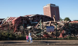 Life goes on for most residents at Red Road, and few pay any attention to the post-demolition site – after all, it has been in a state of demolition since 2011