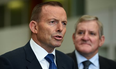 Tony Abbott and Ian Macfarlane