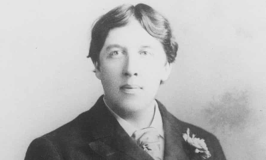 Oscar Wilde in about 1889.