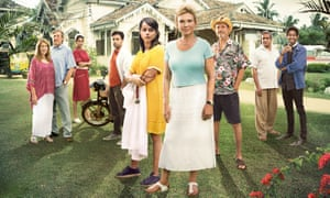 Soap stars … the cast of The Good Karma Hospital.