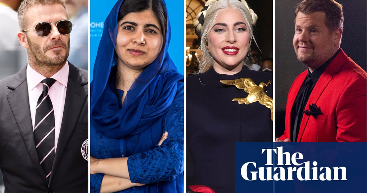 From Lady Gaga to Malala: the bizarre Friends reunion guestlist in full