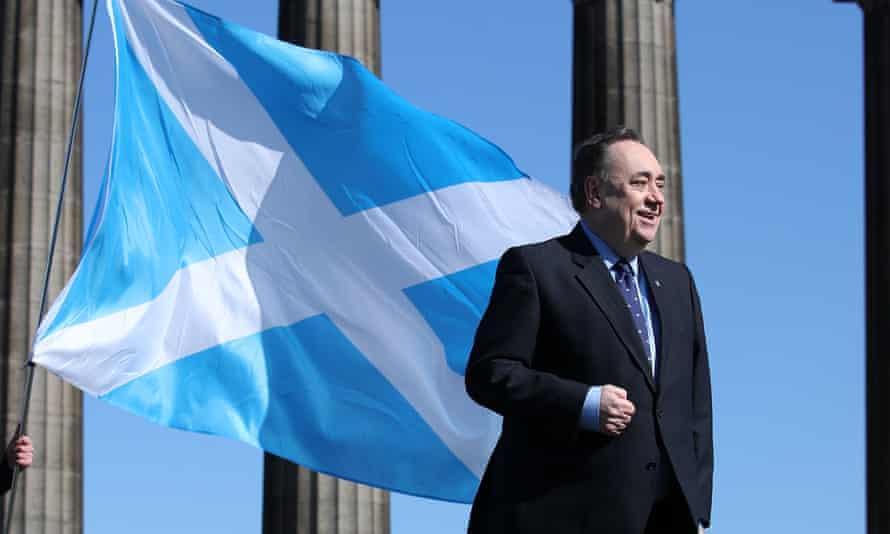 ALBA Party leader Alex Salmond
