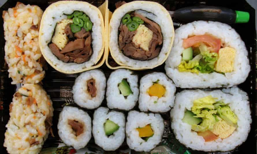 British-born Emma Whitby was surprised by the accessibility and affordability of vegetarian sushi when she moved to Australia.