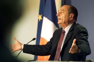 Addressing the media at the end of an emergency EU summit in Brussels, February 2003