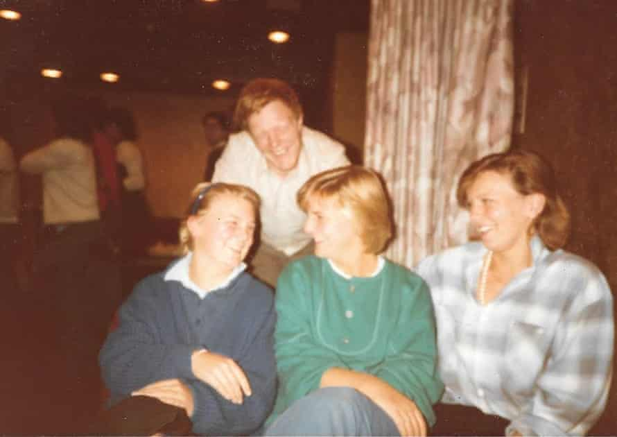 Family album … Suzy, right, with brother Richard and sisters Lizzie and Tamsin.