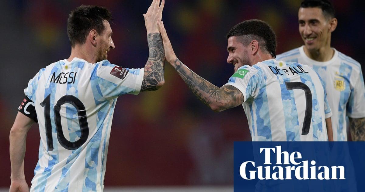 Argentina's Rodrigo de Paul: 'Messi surprised me. He enjoys a song, cards'