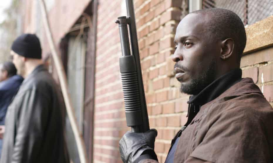 'A man's gotta have a code' … Williams as Omar; the actor died this week.