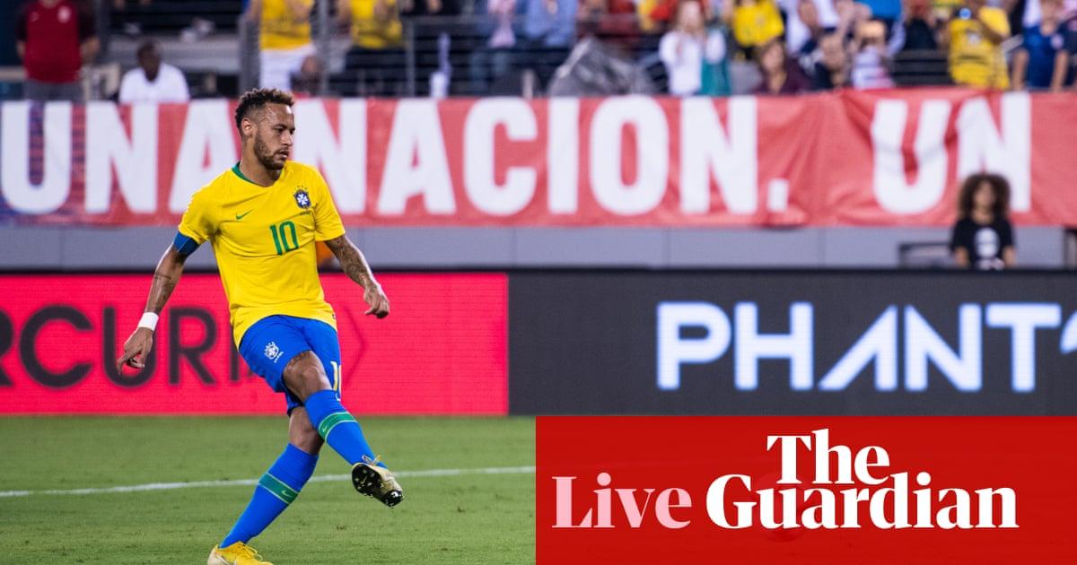 c404ed81529 USA 0-2 Brazil: international friendly – as it happened | Football | The  Guardian