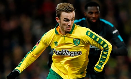 Leicester and Southampton join battle to sign Norwich's James Maddison