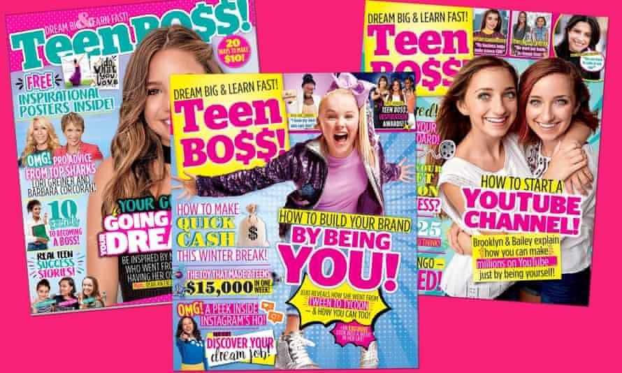 the US magazine Teen Bo$$