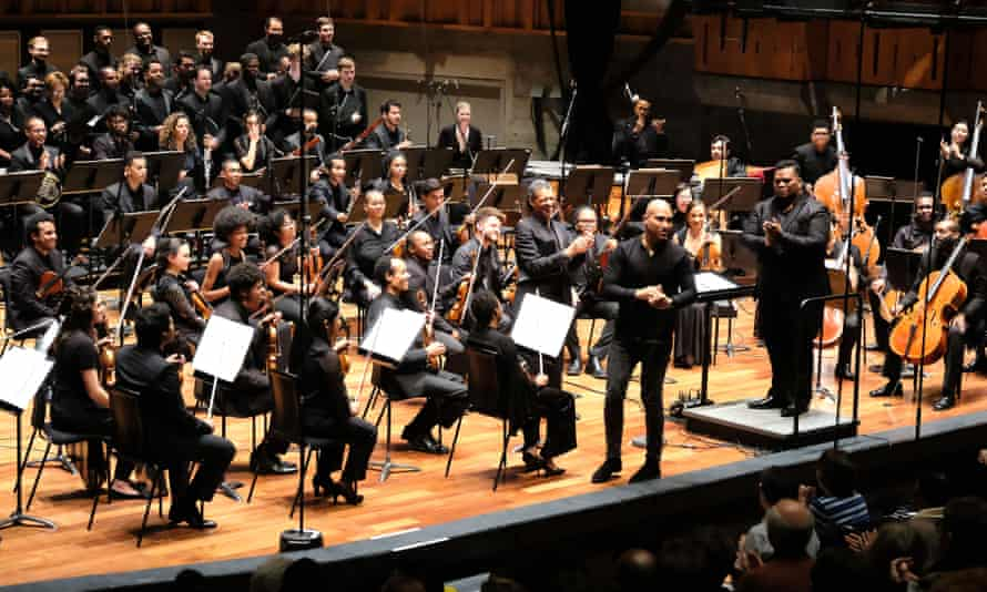 Chineke! Orchestra conducted by Anthony Parnther on 9 April 2018.