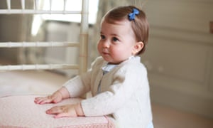 Princess Charlotte in pictures taken by her mother.