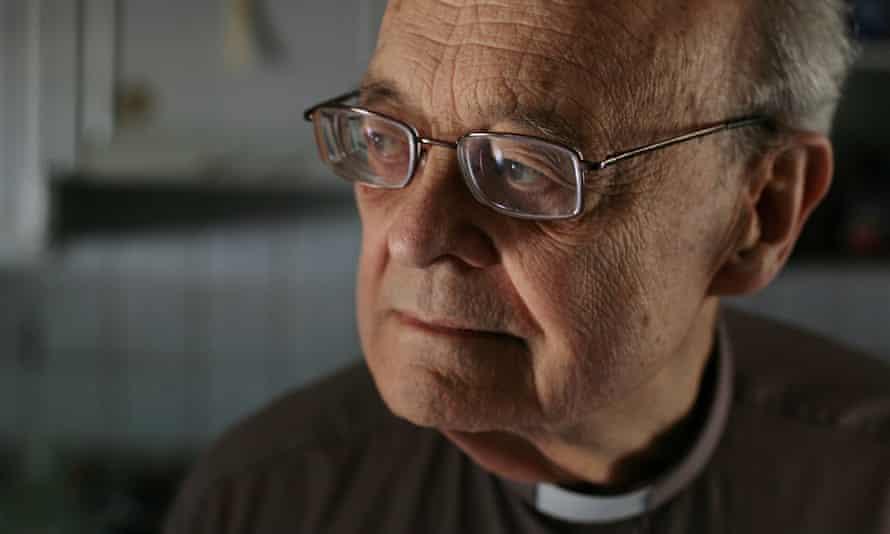 The Rev Paul Nicolson at his home in Tottenham, London, in 2016.