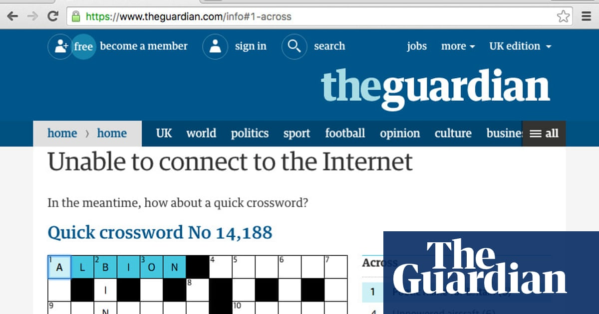 Building an offline page for theguardian com | Info | The