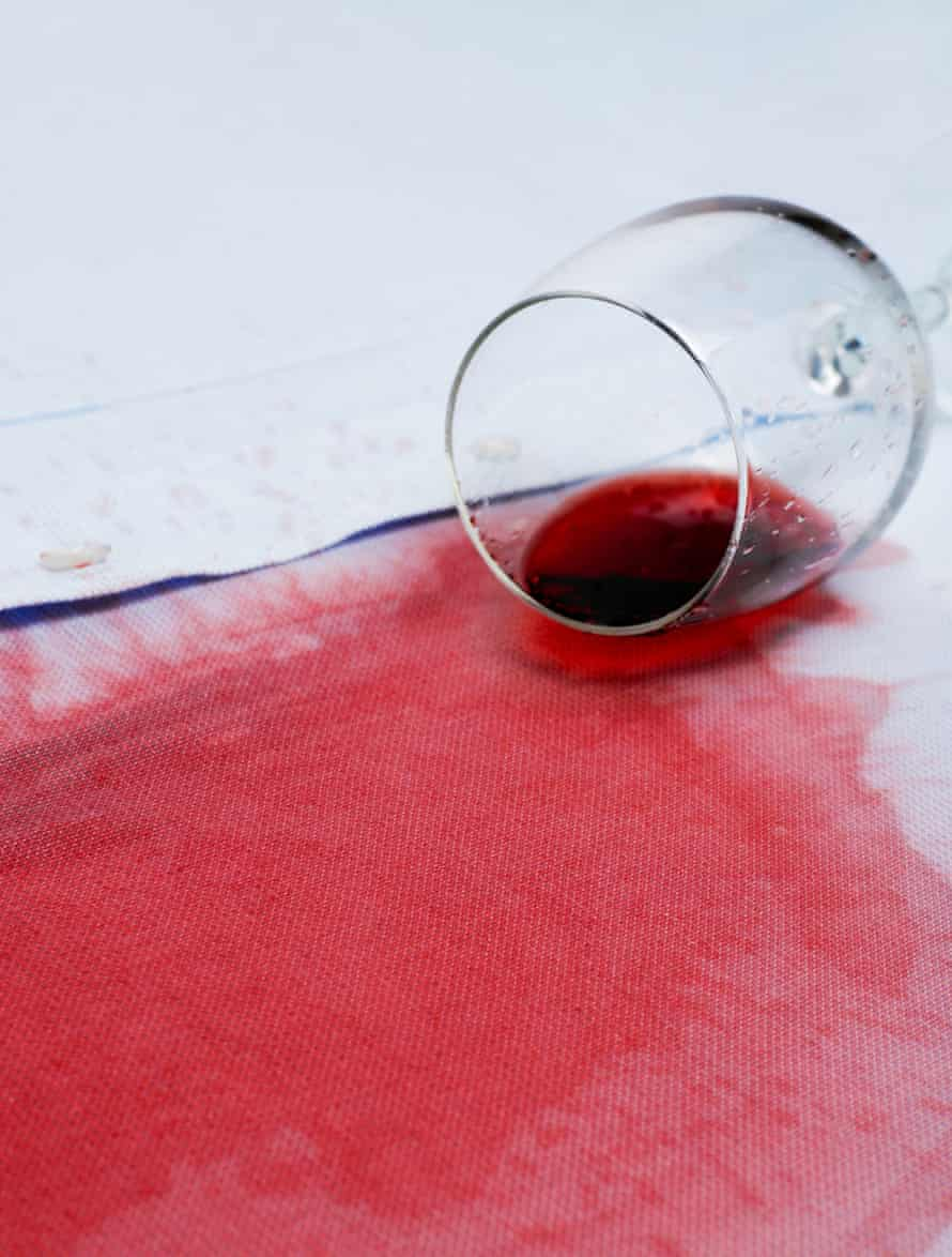 Treat a stain as soon as it occurs