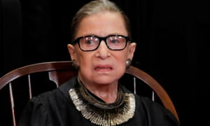 FILE PHOTO: U.S. Supreme Court Justice Ruth Bader Ginsburg poses during group portrait at Supreme Court in WashingtonFILE PHOTO: U.S. Supreme Court Associate Justice Ruth Bader Ginsburg is seen during a group portrait session for the new full court at the Supreme Court in Washington, U.S., November 30, 2018. REUTERS/Jim Young/File Photo
