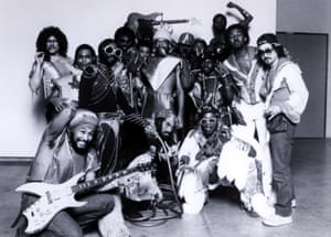 'Garry Shider would turn a towel into a nappy and become Diaper Man' … Funkadelic.