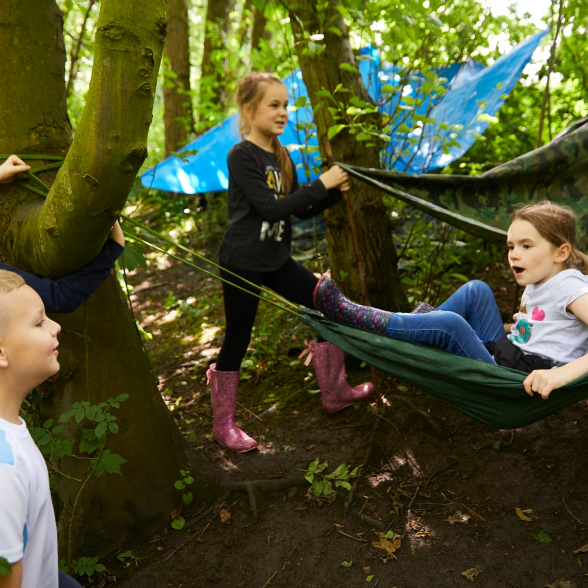 Forest Schools Is Yours More A Marketing Gimmick Than An Outdoors Education Schools The Guardian