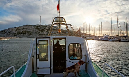 Onboard a Pilot Boat transiting from the Frioul Islands to the Marseille Old Port, Marseille