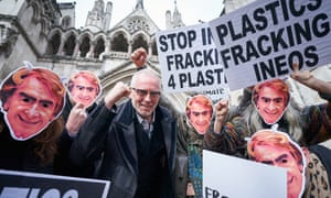 When Team Ineos launches at the Tour de Yorkshire they will run a gauntlet of anti-fracking protesters wearing masks of the Ineos chief executive officer, Jim Ratcliffe, whose company now sponsor the former Team Sky.