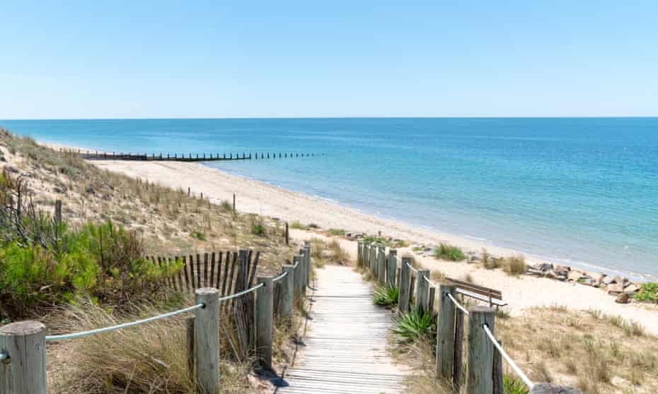 Sandy beach on Atlantic coast, Noirmoutier.