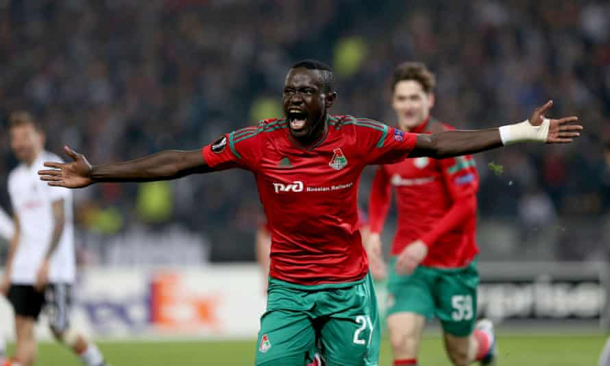 Oumar Niasse has scored 12 goals and provided 10 assists in 21 games for Lokomotiv Moscow this season