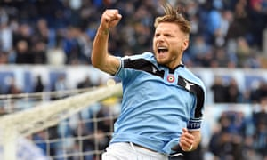Lazio's Ciro Immobile has scored an incredible 23 goals in 19 Serie A appearances.
