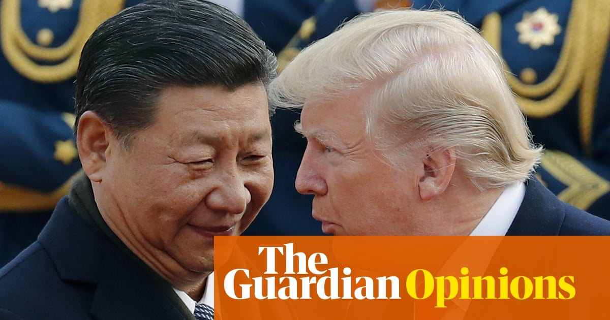 Think 'sanctions' will trouble China? Then you're stuck in the politics of the past | Ai Weiwei | Opinion | The Guardian