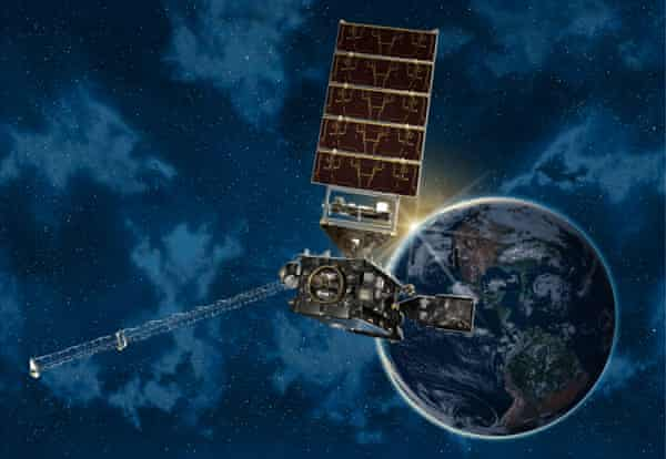 Nasa's GOES-16 weather satellite scans more quickly and in greater resolution than previous devices.