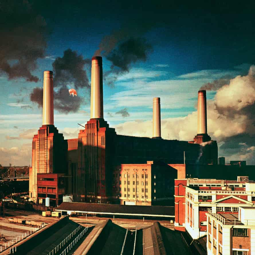 Album cover for Pink Floyd's Animals.