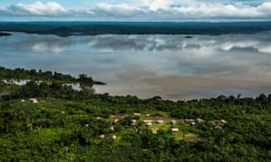 Tapajós River in the Amazon