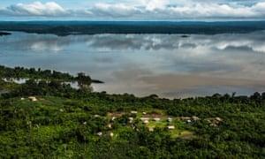 Tapajós Rriver in the Amazon