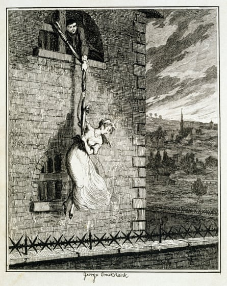 Jack Sheppard aids an escape from Clerkenwell prison. Photograph: Corbis via Getty Images