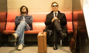 Prasanna Puwanarajah and Benedict Cumberbatch in Patrick Melrose
