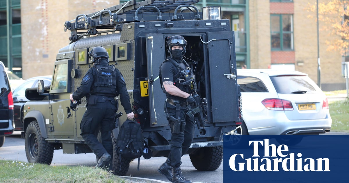 Crawley College staff praised for tackling masked gunman