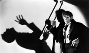 Fredric March in the 1931 film of Dr Jekyll and Mr Hyde.