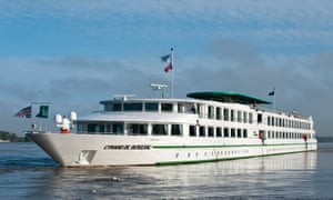 The CroisiEurope cruise ship MS Cyrano de Bergerac.