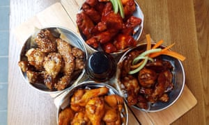Chicken dishes from Clockjack