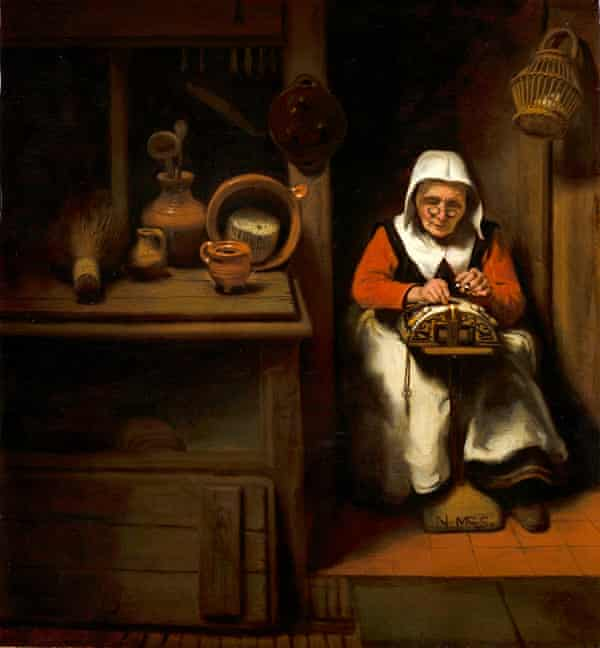 The Old Lacemaker, circa 1656.