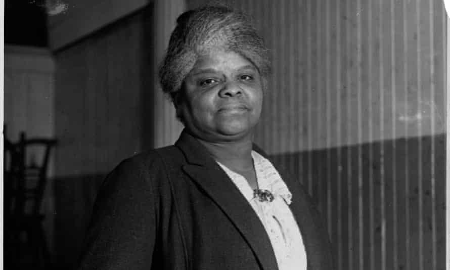Portrait of Ida B Wells, 1920. 'I consider her my spiritual grandmother,' said journalist Nikole Hannah-Jones, who covers civil rights.