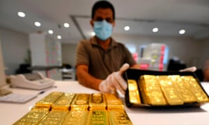 Coronavirus and the resulting prospect of a recession there's been a surge of interest in buying gold.