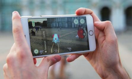 pokemon go in St Petersburg