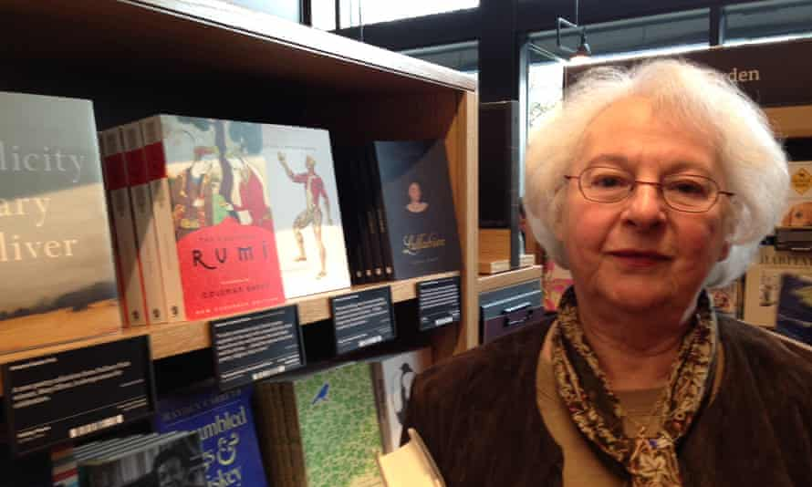 Jaqueline Herschberg at the Amazon bookstore in Seattle